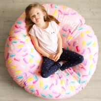 Strawberry Donut Bean Bag